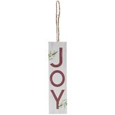 Joy Rectangular Ornament