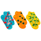 Tropical Low Cut Socks