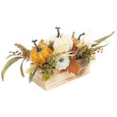 Pumpkins, Berries & Leaves Centerpiece
