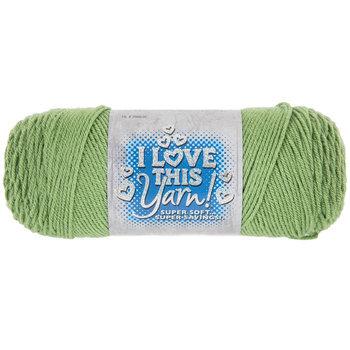 Mid Green I Love This Yarn