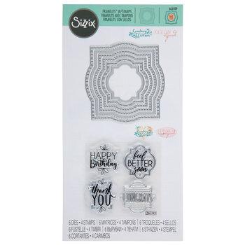 Layered Labels Framelits Dies & Stamps