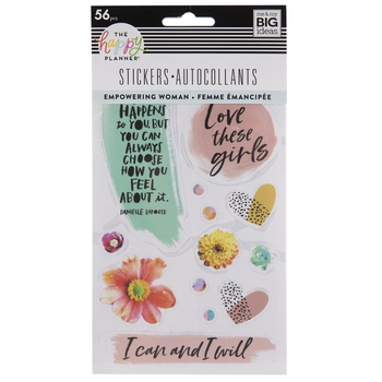 Empowering Woman Happy Planner Stickers