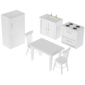 Miniature White Kitchen Furniture