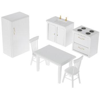Miniature White Kitchen Furniture