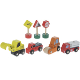 Construction Wood Toys