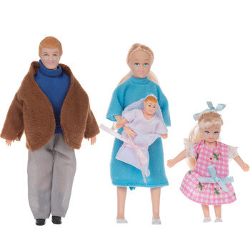 Blonde Family Dolls