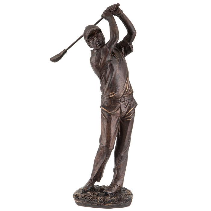 Bronze Swinging Golfer Hobby Lobby, Outdoor Golf Statues