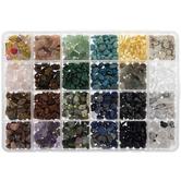 Gemstone Chips Bead Mix
