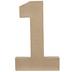 Paper Mache Number 1 - 8