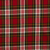 Red & Green Plaid Flannel Fabric