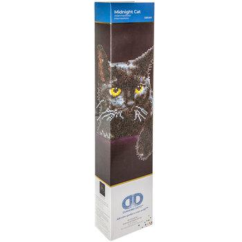 Midnight Cat Diamond Art Intermediate Kit