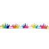 Rainbow Crown Trim - 7/8