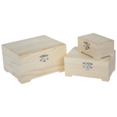 Latched Wood Box Set