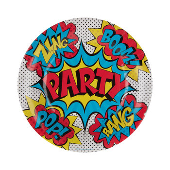 Superhero Paper Plates - Small