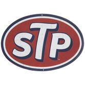 STP Logo Metal Sign