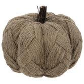 Jute Knit Pumpkin