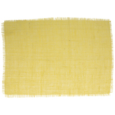 Yellow Fringe Placemat