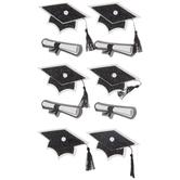 Graduation Icons 3D Stickers