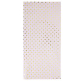 Pink & Gold Polka Dot Tissue Paper