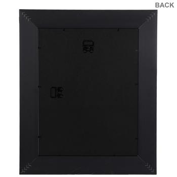 Matte Black Wood Wall Frame