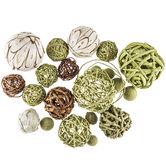 Green Decorative Spheres