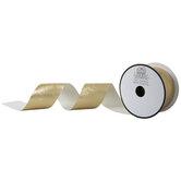Metallic Gold Zebra Print Ribbon