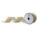 Metallic Gold Zebra Print Ribbon - 2