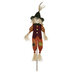 Scarecrow With Green Hat Garden Stake