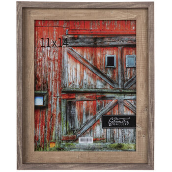 Two-Tone Barnwood Wall Frame