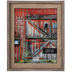 Two-Tone Barnwood Wall Frame - 11