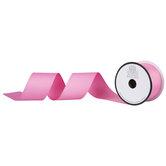 "Pink Matte Grosgrain Ribbon - 2"""
