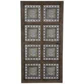 Galvanized Cutout Metal Collage Wall Frame