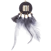 Dreamcatcher Pendant With Feathers