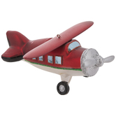 Red Airplane Ornament