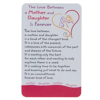Mother & Daughter Wallet Card