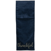 Thankful Velvet Table Runner
