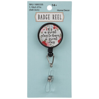 Great Day Badge Reel