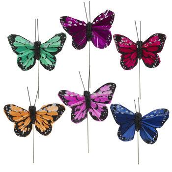 Feather Butterflies