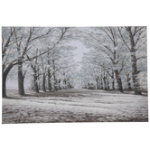 Forest Pathway Canvas Wall Decor