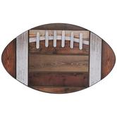 Football Wood Wall Decor