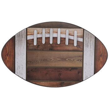 Football Wood Wall Decor