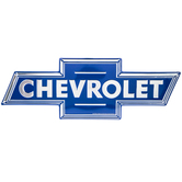 Chevrolet Logo Metal Sign