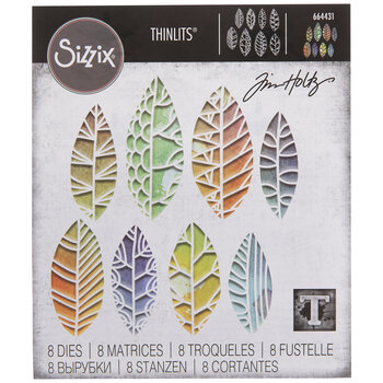Sizzix Thinlits Cut Out Leaves Dies