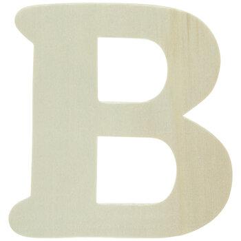 """Wood Letters B - 4"""""""