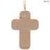 Love Tassel Wood Wall Cross