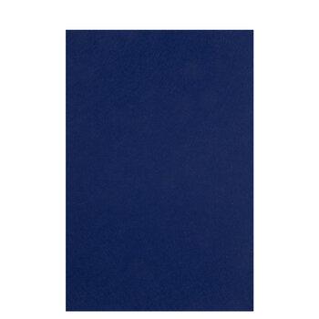 Blue Stiffened Felt Sheet