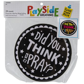 Did You Think To Pray Fuzzy Art