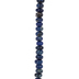 Dark Blue Dyed Imperial Jasper Bead Strand