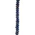 Dark Blue Dyed Imperial Jasper Bead Strand