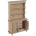 Miniature Unfinished Wood Cupboard
